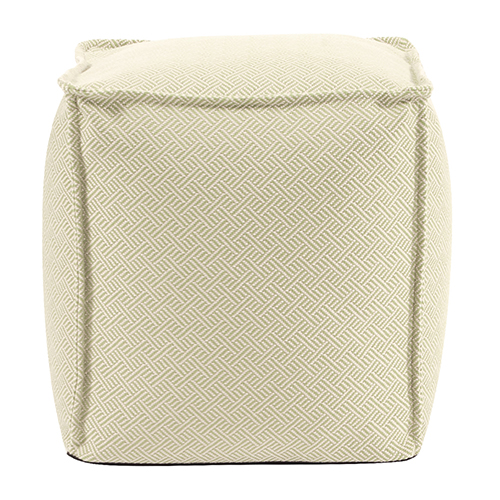 Square Pouf Beach Club Palm