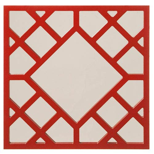 Howard Elliott Collection Anakin Red Square Mirror