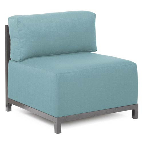 Howard Elliott Collection Axis Sterling Breeze Chair Slipcover
