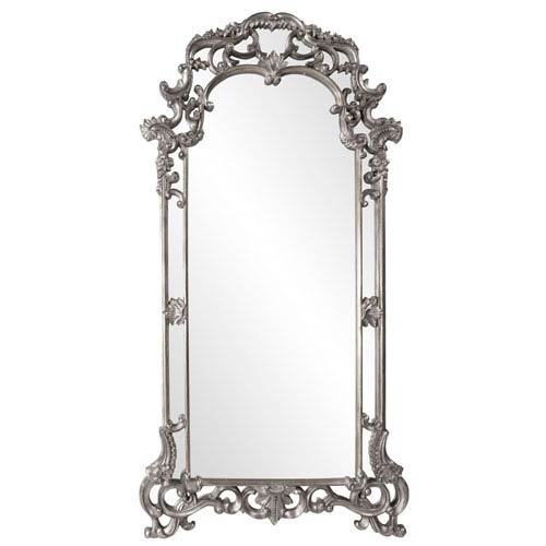 Howard Elliott Collection Imperial Nickel Rectangle Mirror