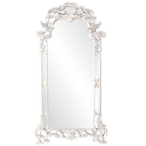 Howard Elliott Collection Imperial White Rectangle Mirror