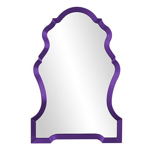 Nadia Glossy Royal Purple Mirror