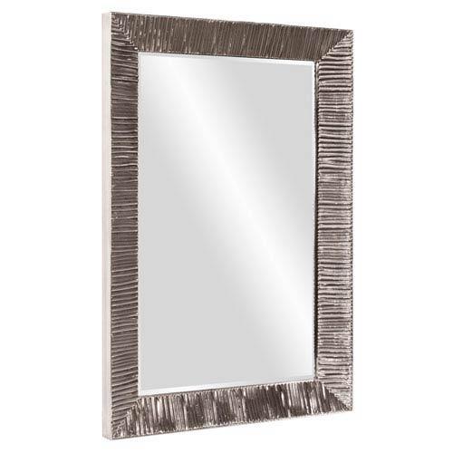 Howard Elliott Collection Tennessee Bright Nickel Mirror