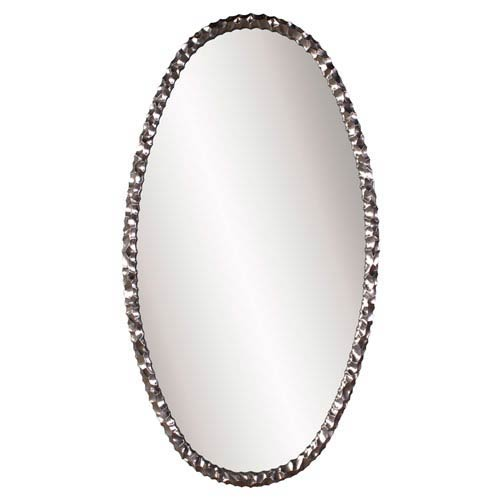 Memphis Oval Nickel Mirror