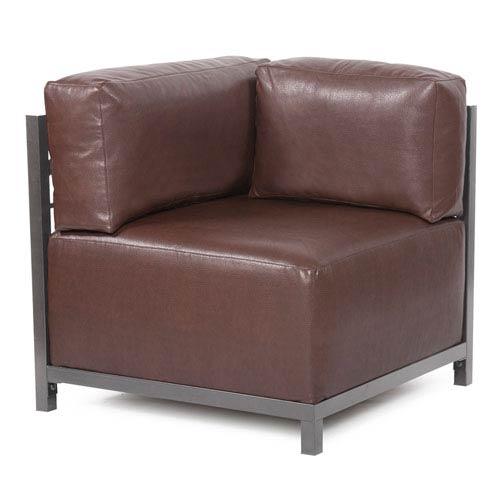 Howard Elliott Collection Axis Avanti Pecan Corner Chair Slipcover