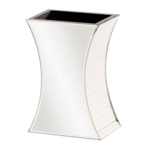 Howard Elliott Collection Curved Rectangular Mirrored Vase - Large