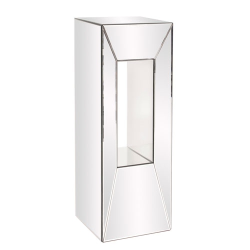 Mirrored Pedestal w/ Offset Opening - Large