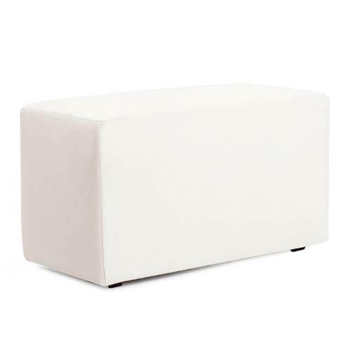 Howard Elliott Collection Avanti White Universal Bench Cover