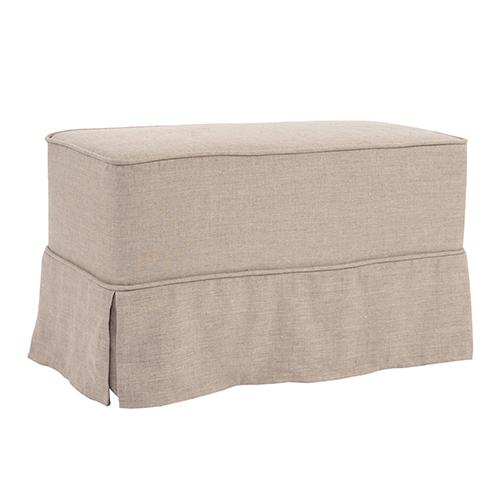 Universal Bench Cover Prairie Linen Natural - Skirted