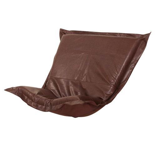 Avanti Pecan Puff Chair Cover