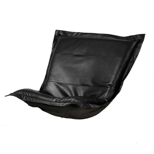 Avanti Black Puff Chair Cover