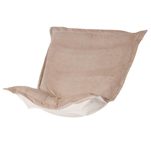 Howard Elliott Collection Bella Sand Puff Chair Cover