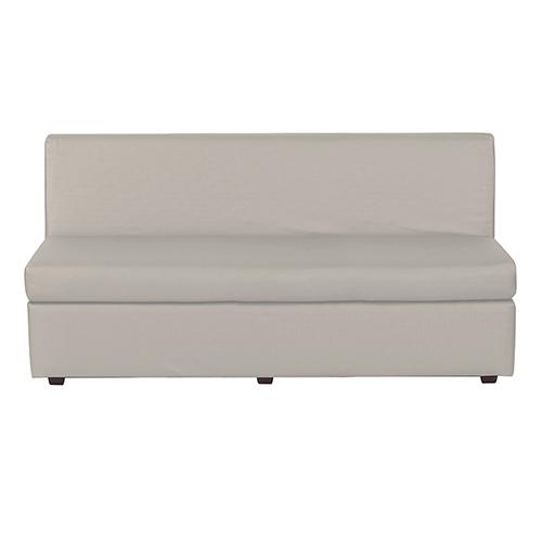 Luxe Mercury Slipper Sofa Cover