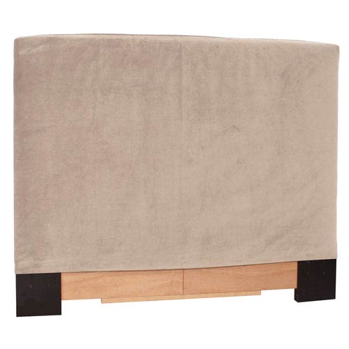 Bella Sand Twin Slipcovered Headboard