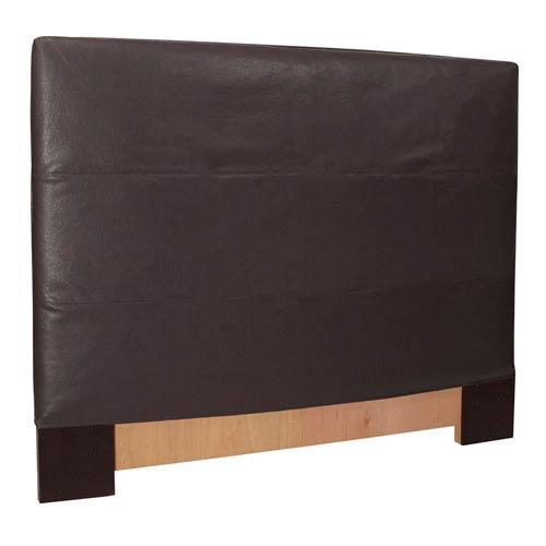 Howard Elliott Collection Black King Headboard Slipcover