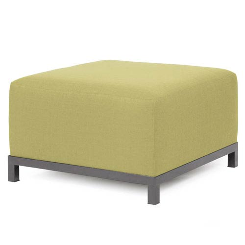 Axis Sterling Willow Ottoman Chair with Titanium Frame