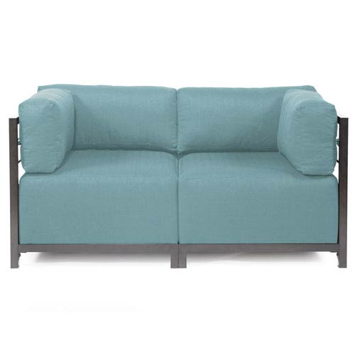 Axis Sterling Breeze Sectional Sofa with Titanium Frame