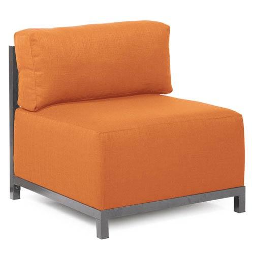 Howard Elliott Collection Axis Seascape Canyon Chair with Titanium Frame