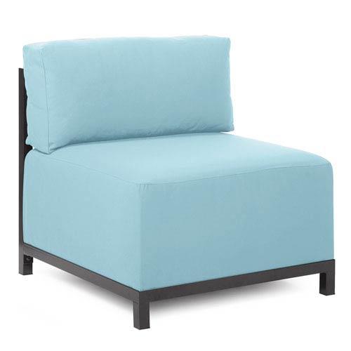 Howard Elliott Collection Axis Seascape Breeze Chair with Titanium Frame