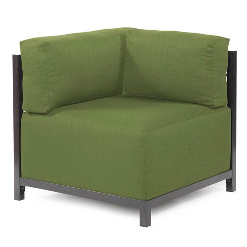 Axis Seascape Moss Corner Chair with Titanium Frame