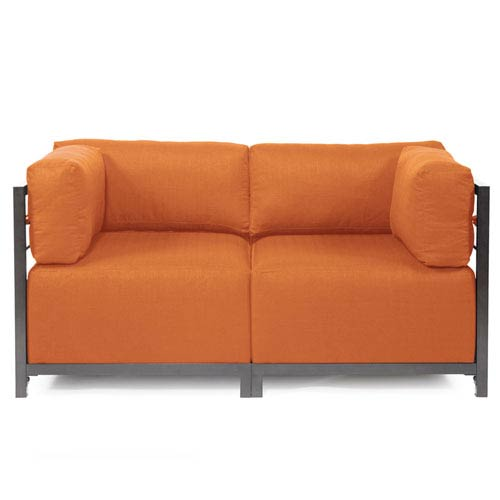 Axis 2-Piece Seascape Canyon Sectional with Titanium Frame