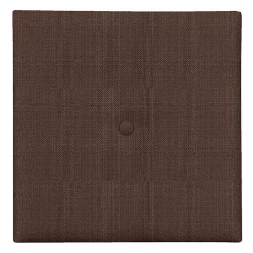Howard Elliott Collection Sterling Chocolate 1-Inch Wall Pixel with Button