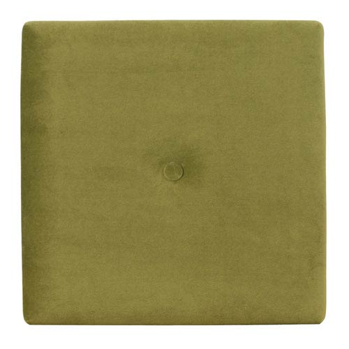 Howard Elliott Collection Bella Moss Green 1-Inch Wall Pixel with Button