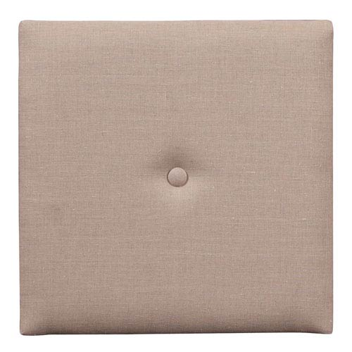 Howard Elliott Collection Prairie Linen Natural 1-Inch Wall Pixel with Button
