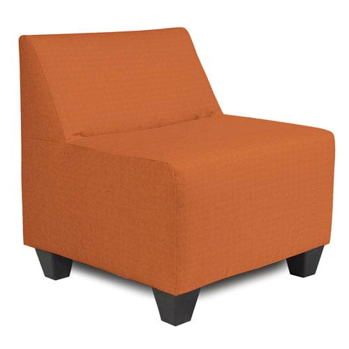 Seascape Canyon Orange Outdoor Pod Chair