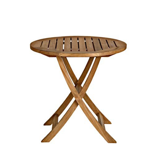 Three Birds Casual Cambridge 30 Inch Round Folding Café Table
