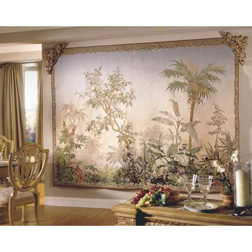 Exotic Landscape Tapestry