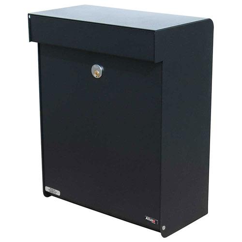 Allux Series Black Mailboxes Grandform
