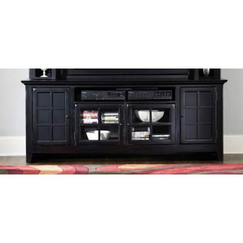 Liberty Furniture New Generation Entertainment TV Stand   Rubbed Black