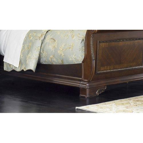 Liberty Furniture Highland Court Rich Cognac Queen Sleigh Bed Rails