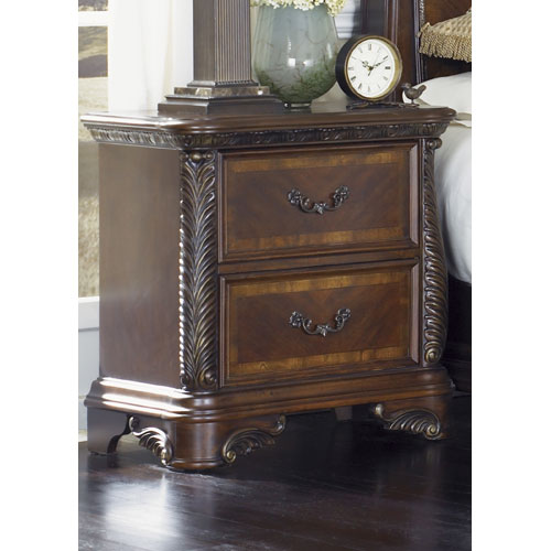 Liberty Furniture Highland Court Rich Cognac Two Drawer Night Stand