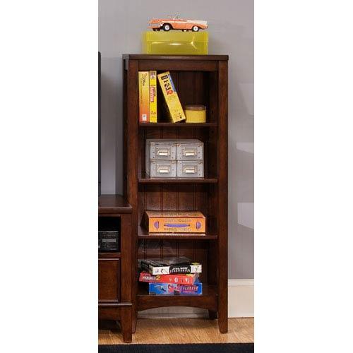 Liberty Furniture Chelsea Square Burnished Tobacco Student Bookcase