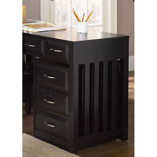 Liberty Furniture Hampton Bay Black Mobile File Cabinet