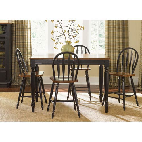 Low Country Anchor Black with Suntan Bronze Gathering Table