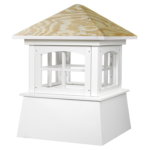 Good Directions Brookfield Vinyl Cupola with Wood Roof 18 x 25