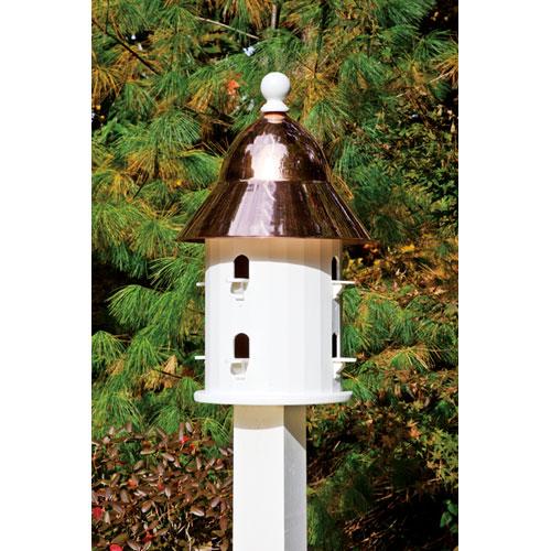 Copper Bell House Bird Feeder/Bird House