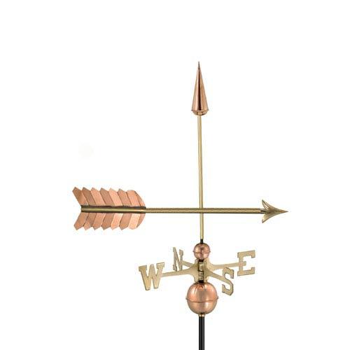 Polished Arrow Weathervane