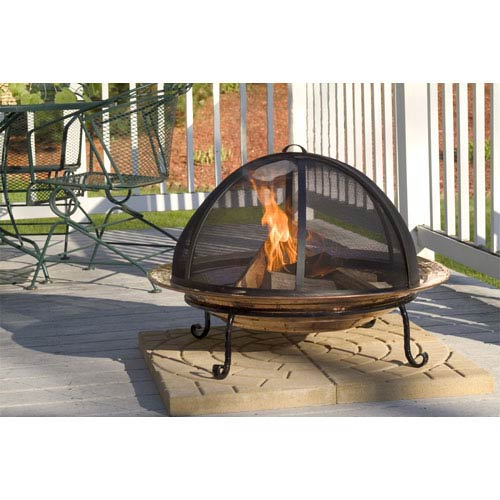 Extra Large Fire Pit Spark Screen
