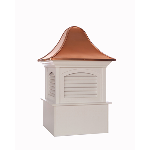 Good Directions Fairfield Vinyl Cupola with Copper Roof 48 x 78