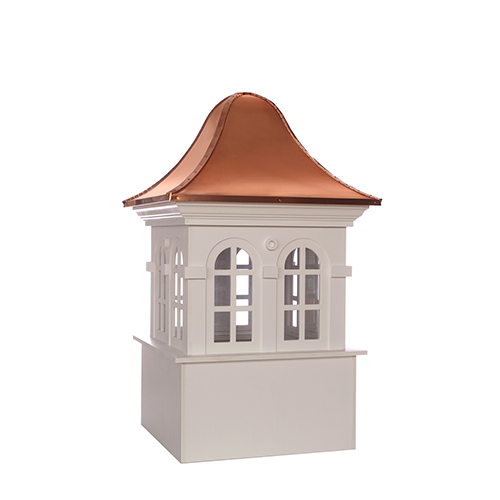 Good Directions Smithsonian Rockville Vinyl Cupola with Copper Roof 36 x 57