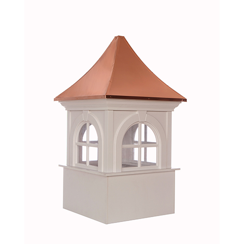 Good Directions Smithsonian Fairfax Vinyl Cupola with Copper Roof 36 x 58
