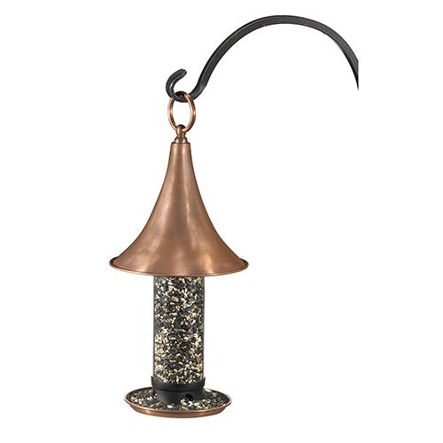Castella Bird Feeder - Polished Copper