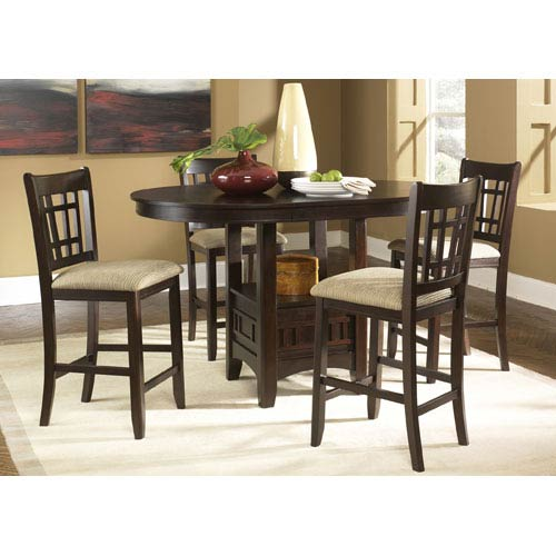 Liberty furniture santa rosa merlot oval pub table bkit 20 pub4260 liberty furniture santa rosa merlot oval pub table watchthetrailerfo