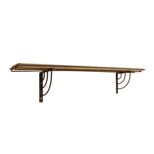 Vita Roman Bronze Powdercoat Windowsill Shelf Bracket