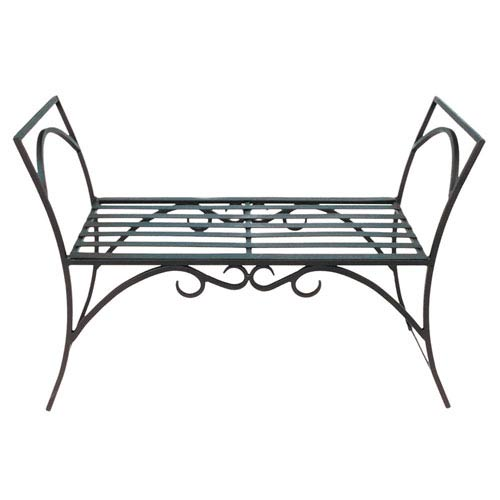 Arbor Wrought Iron Bench