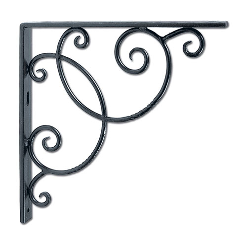 Scroll Shelf Bracket